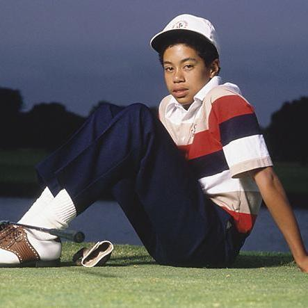 young tiger woods