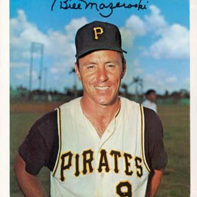 Bill Mazeroski 9 Pittsburgh Pirates Mlb At Araichur