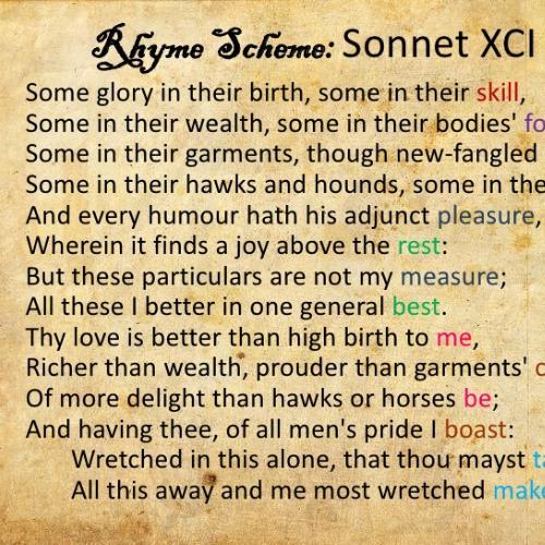sonnet 91