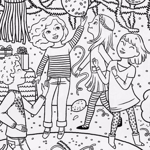 coloring book ~ Il 794xn 1364201045 A0gm American Girl Coloring ... | 511x511