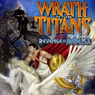 wrath of the titans revenge of medusa comics wrath of the titans