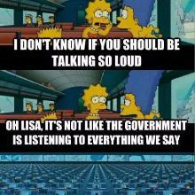 Simpsons NSA